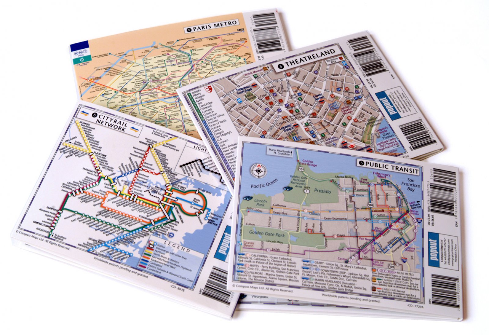 PopOut City Maps Popout Products