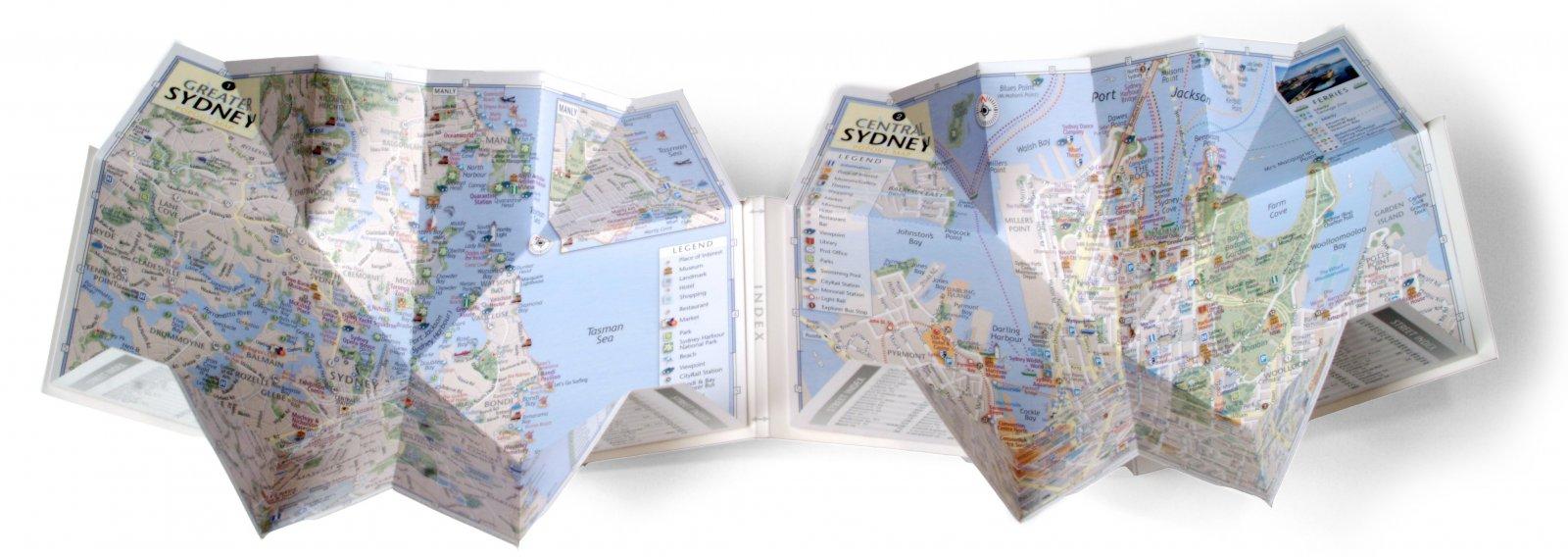 PopOut City Maps - Popout Products